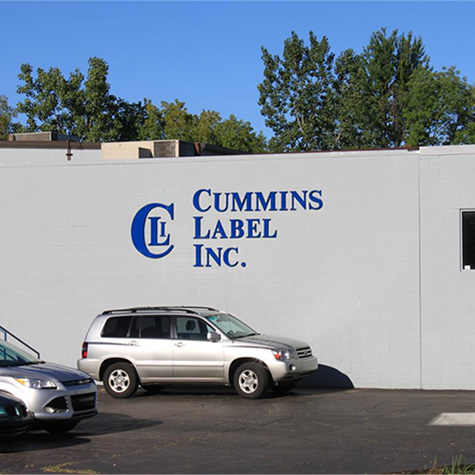 Cummins Label
